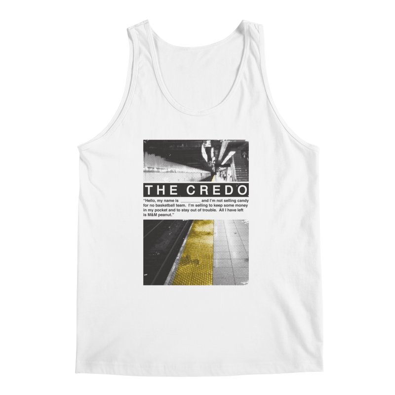 The Credo Men's Regular Tank by danielstevens's Artist Shop