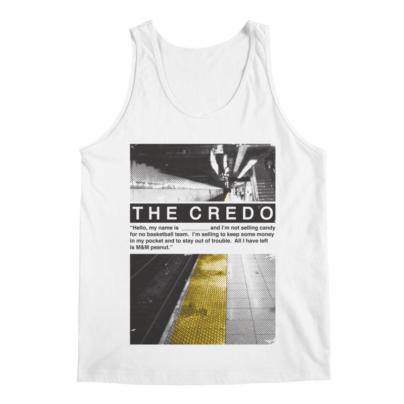 The Credo Men's Tank by Daniel Stevens's Artist Shop
