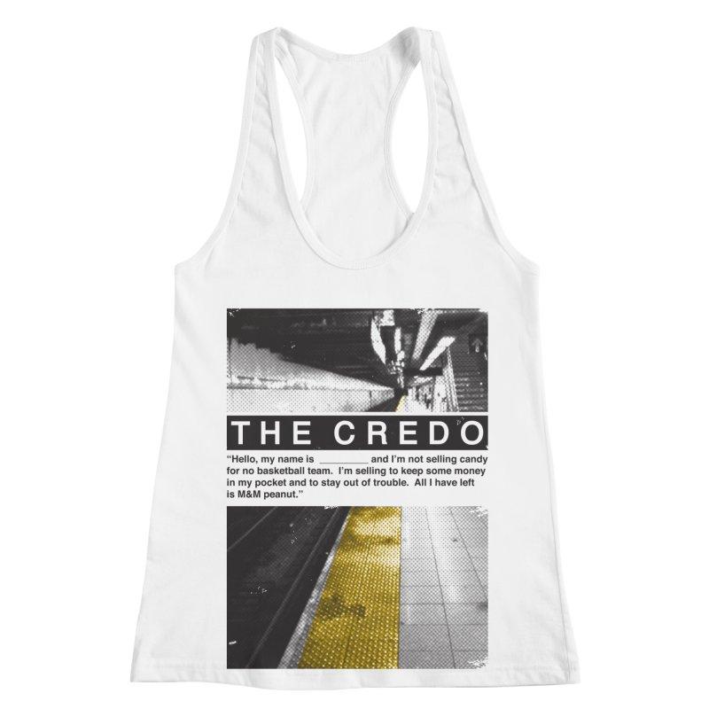 The Credo Women's Tank by Daniel Stevens's Artist Shop