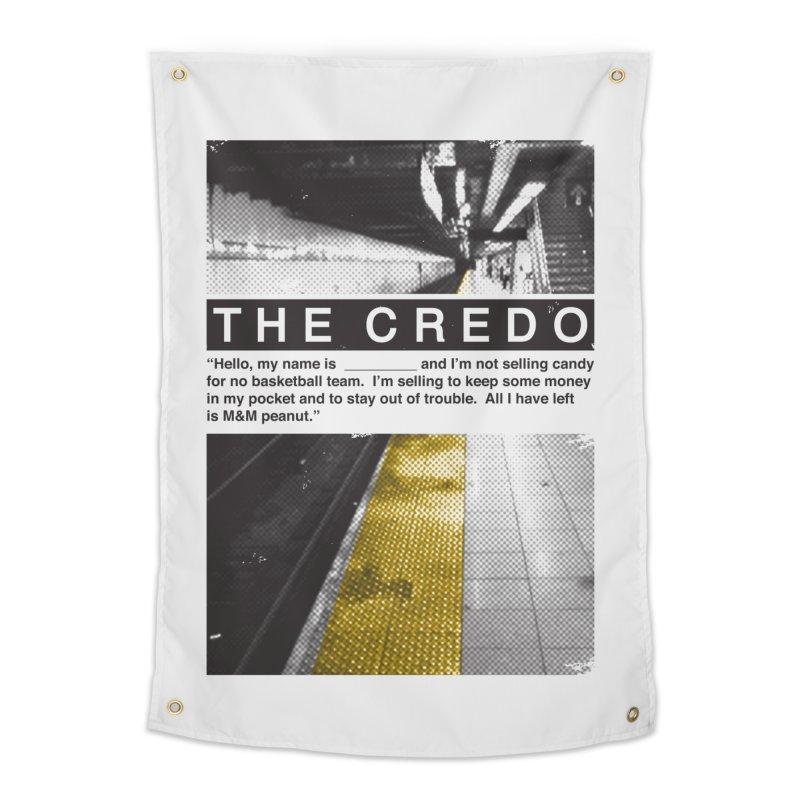 The Credo Home Tapestry by Daniel Stevens's Artist Shop