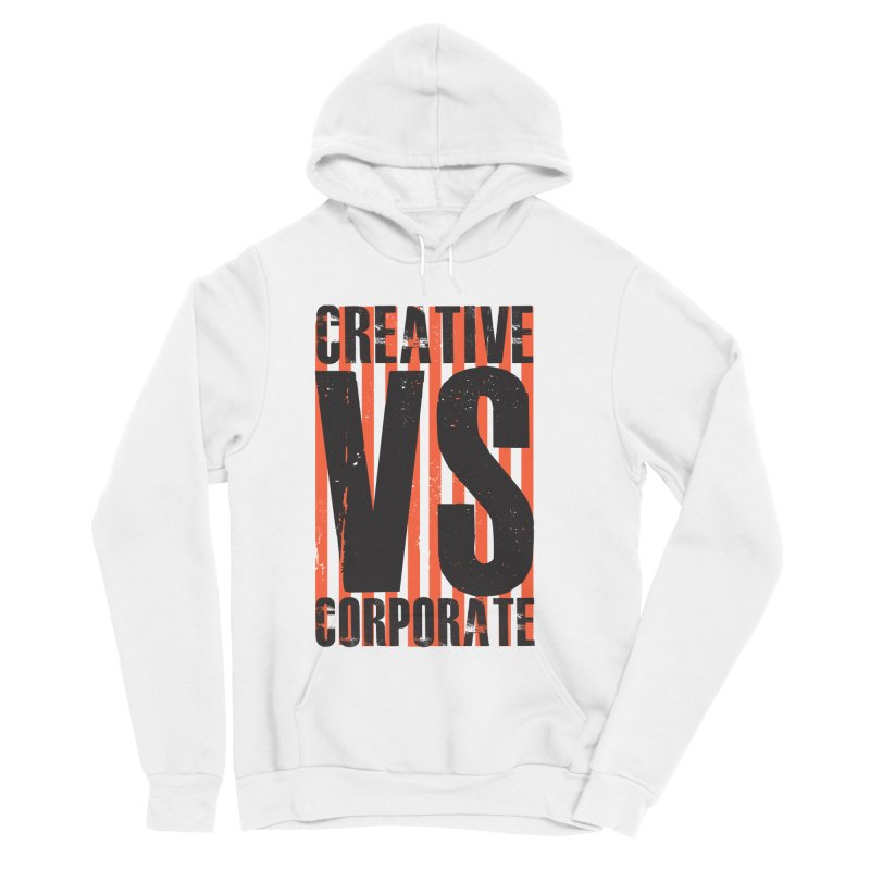 Creative Vs Corporate Men's Pullover Hoody by Daniel Stevens's Artist Shop