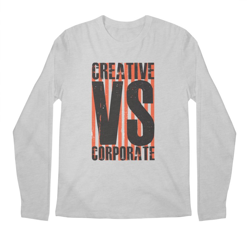 Creative Vs Corporate Men's Longsleeve T-Shirt by Daniel Stevens's Artist Shop