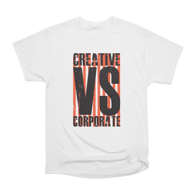 Creative Vs Corporate Men's T-Shirt by Daniel Stevens's Artist Shop