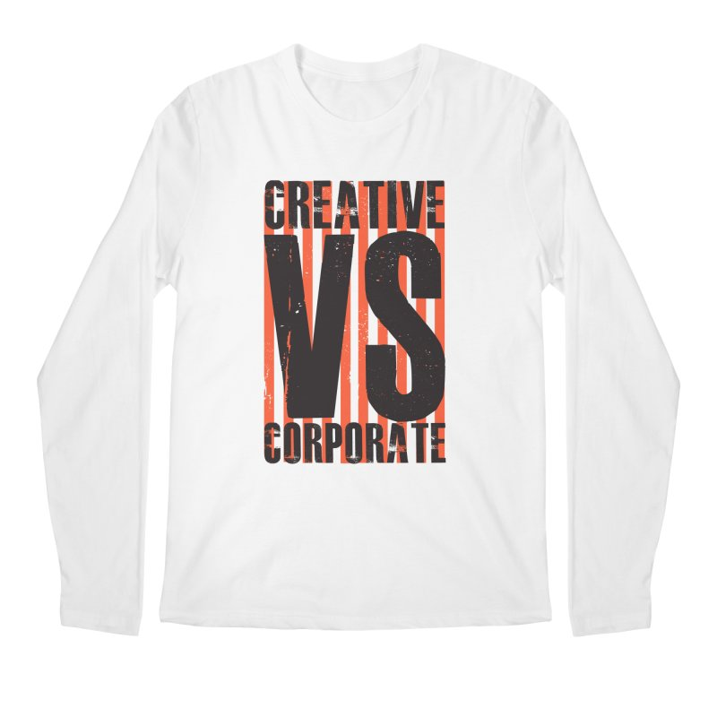 Creative Vs Corporate Men's Longsleeve T-Shirt by Daniel Stevens's Artist Shop