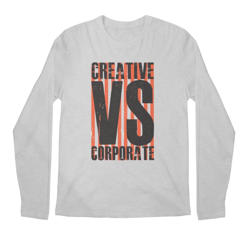 Creative Vs Corporate Men's Regular Longsleeve T-Shirt by Daniel Stevens's Artist Shop