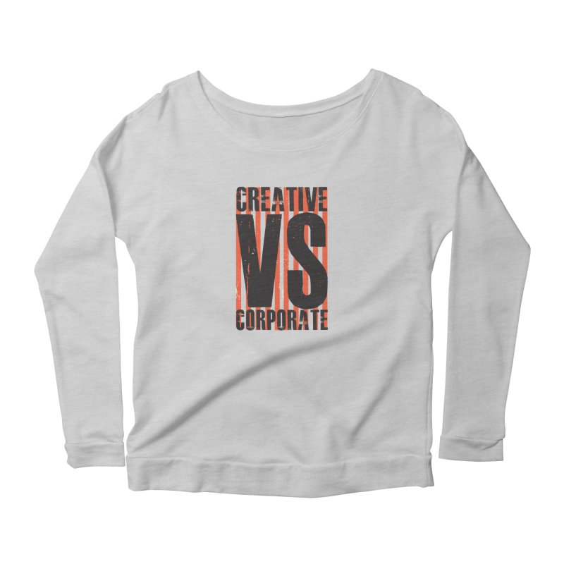 Creative Vs Corporate Women's Longsleeve T-Shirt by Daniel Stevens's Artist Shop