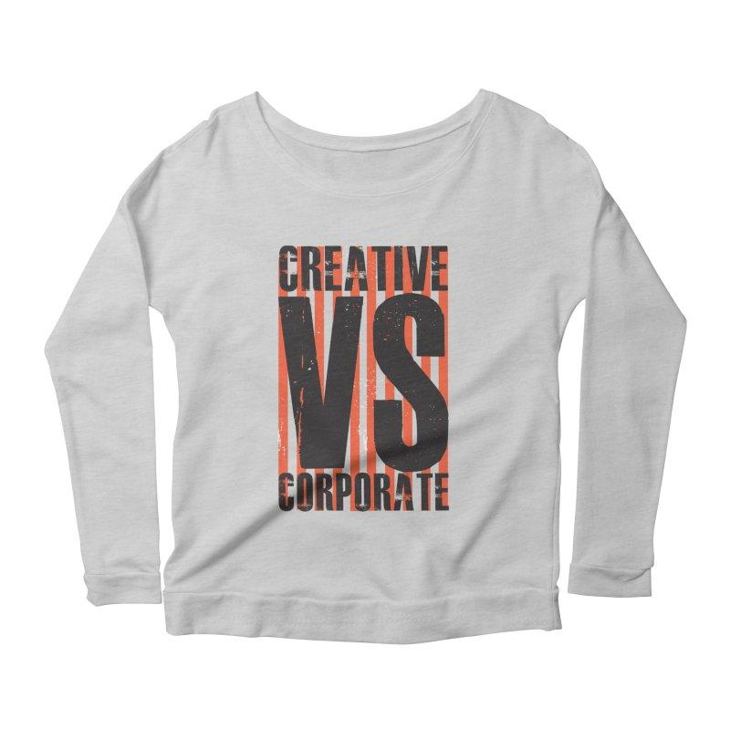 Creative Vs Corporate Women's Longsleeve T-Shirt by Daniel Stevens's Artist Shop
