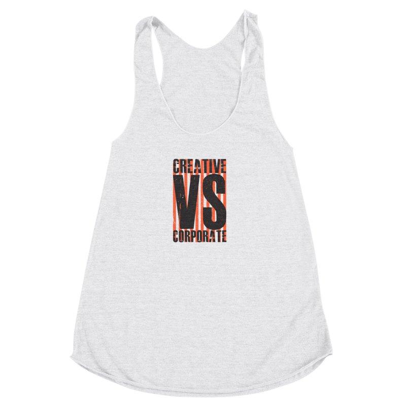 Creative Vs Corporate Women's Tank by Daniel Stevens's Artist Shop