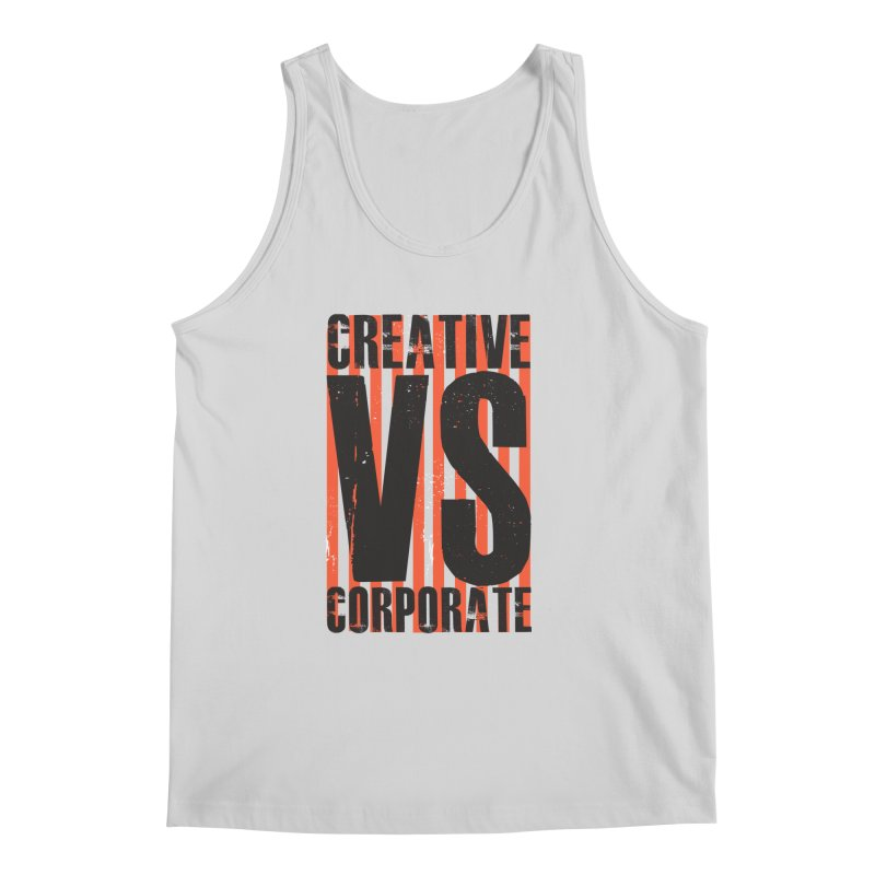 Creative Vs Corporate Men's Regular Tank by Daniel Stevens's Artist Shop