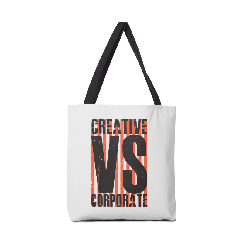 Creative Vs Corporate Accessories Tote Bag Bag by Daniel Stevens's Artist Shop