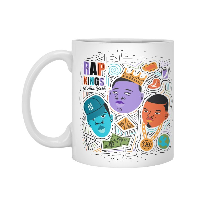 Rap Kings in Standard Mug White by Daniel Stevens's Artist Shop