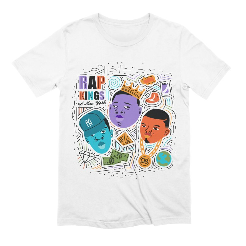 Rap Kings Men's Extra Soft T-Shirt by Daniel Stevens's Artist Shop