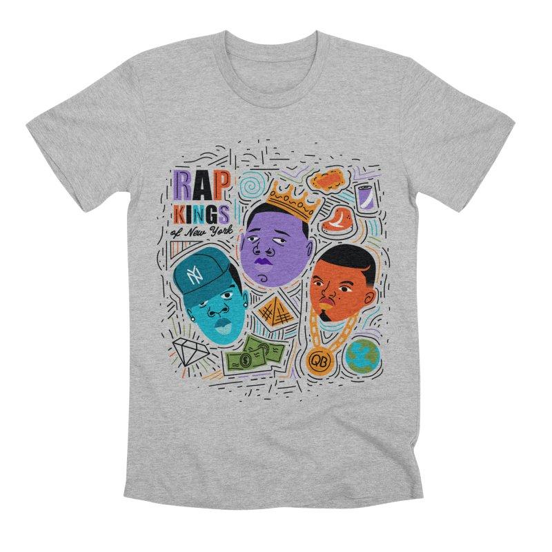 Rap Kings Men's Premium T-Shirt by Daniel Stevens's Artist Shop