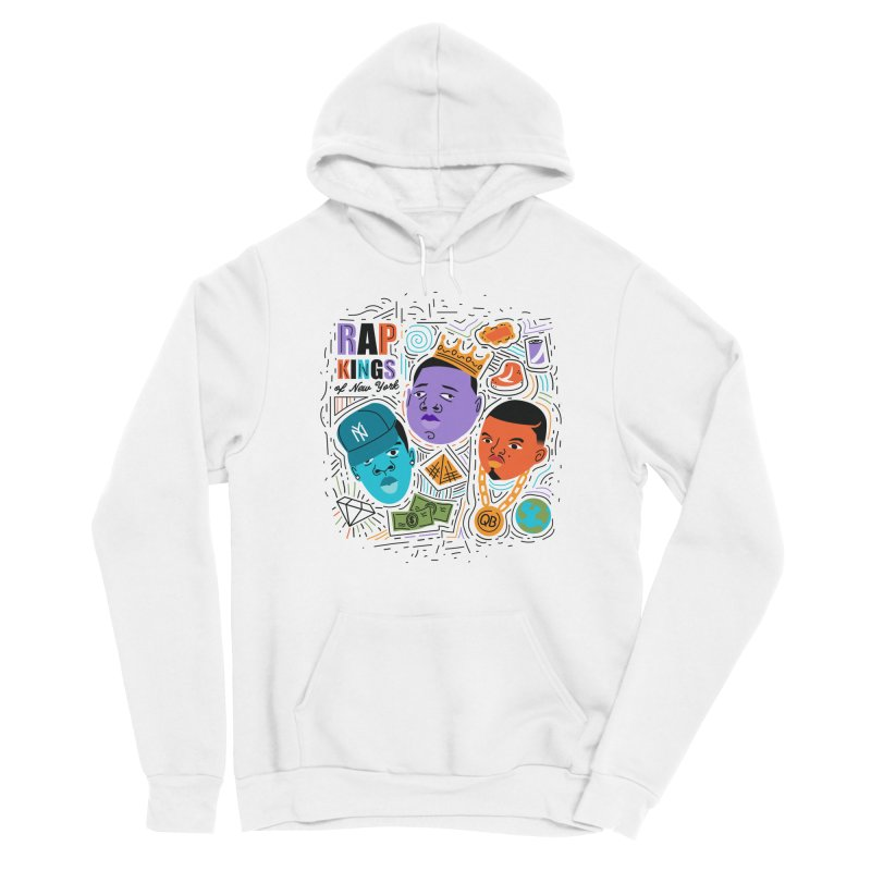 Rap Kings Men's Sponge Fleece Pullover Hoody by Daniel Stevens's Artist Shop