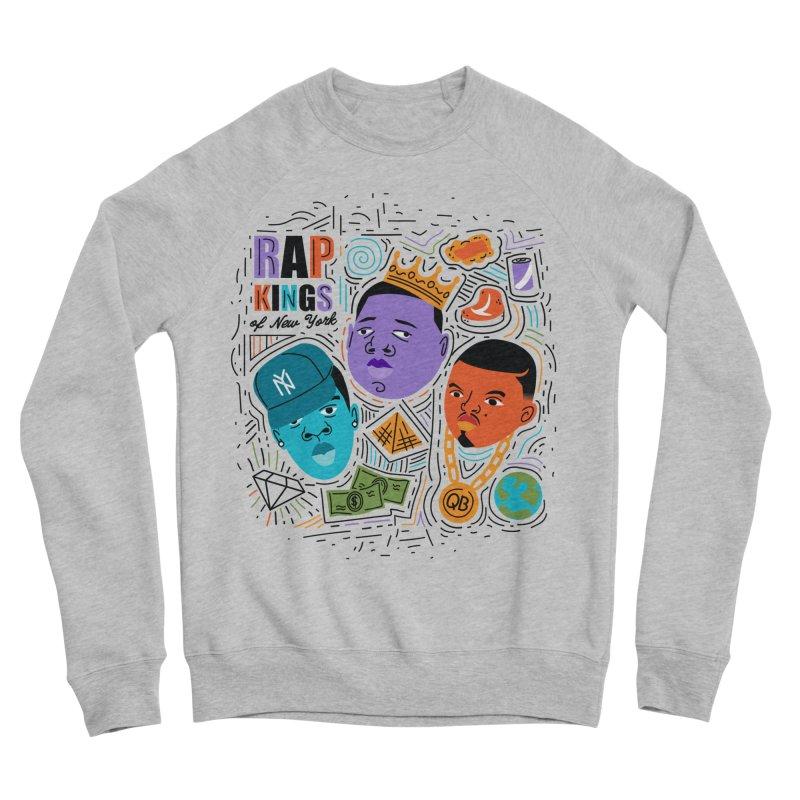 Rap Kings Men's Sponge Fleece Sweatshirt by Daniel Stevens's Artist Shop