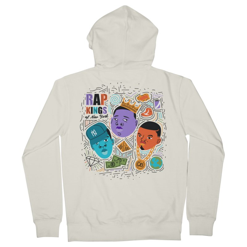 Rap Kings Men's Zip-Up Hoody by Daniel Stevens's Artist Shop
