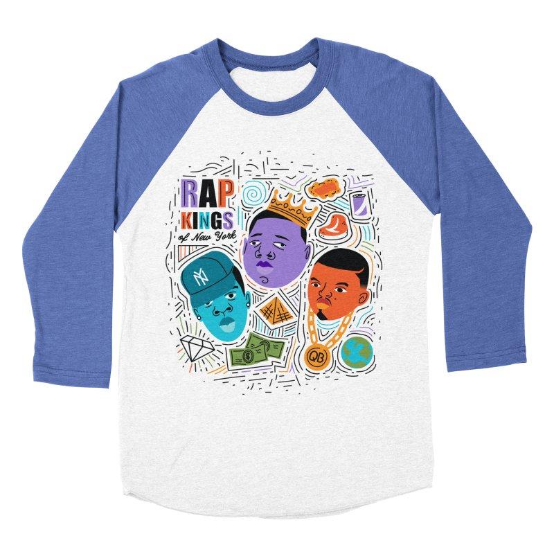 Rap Kings Women's Longsleeve T-Shirt by Daniel Stevens's Artist Shop