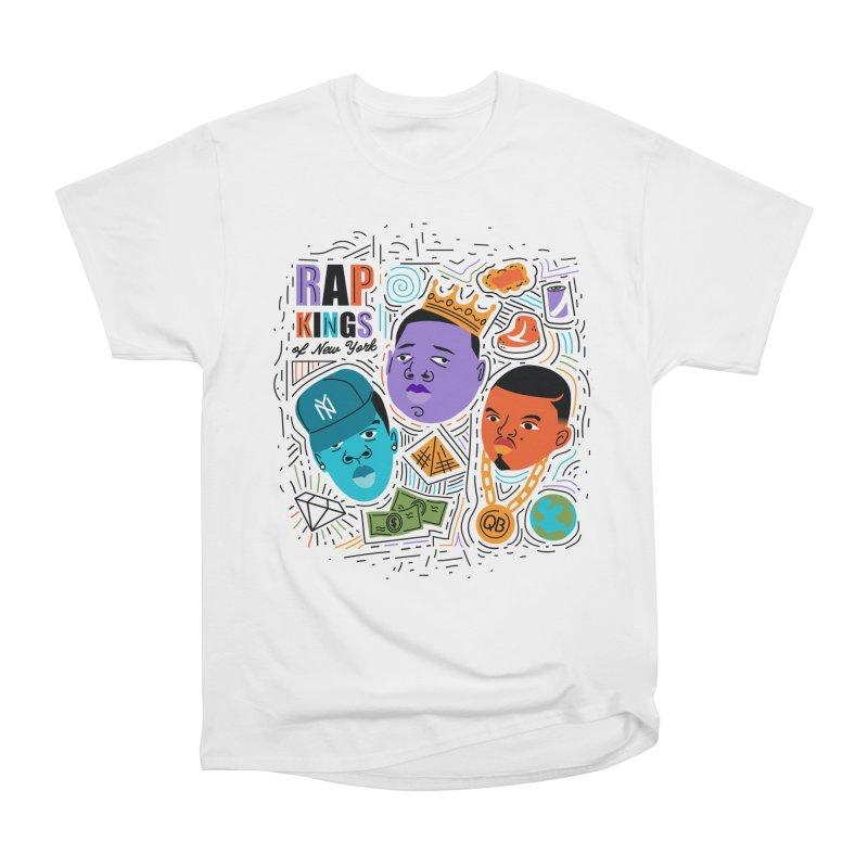 Rap Kings Women's T-Shirt by Daniel Stevens's Artist Shop