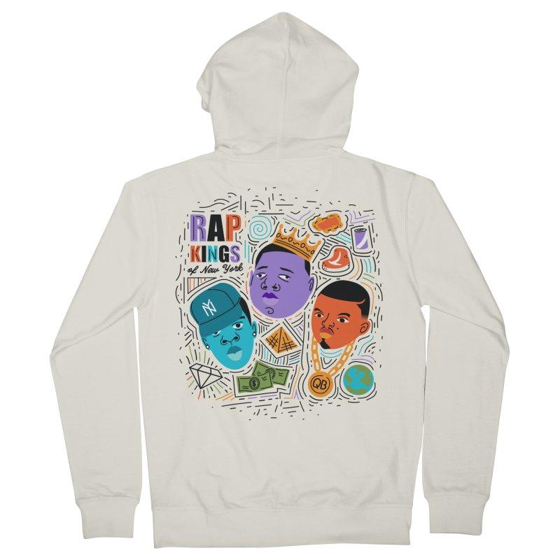 Rap Kings Women's Zip-Up Hoody by Daniel Stevens's Artist Shop
