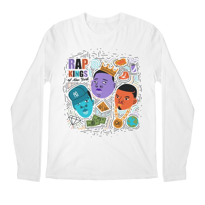 Rap Kings Men's Regular Longsleeve T-Shirt by Daniel Stevens's Artist Shop
