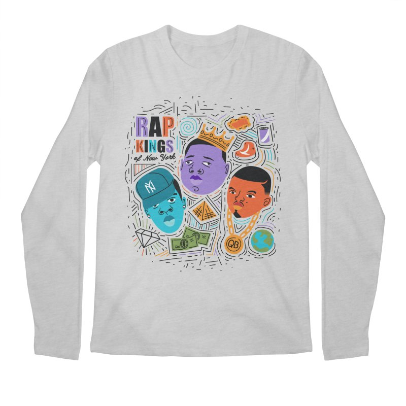Rap Kings Men's Longsleeve T-Shirt by Daniel Stevens's Artist Shop