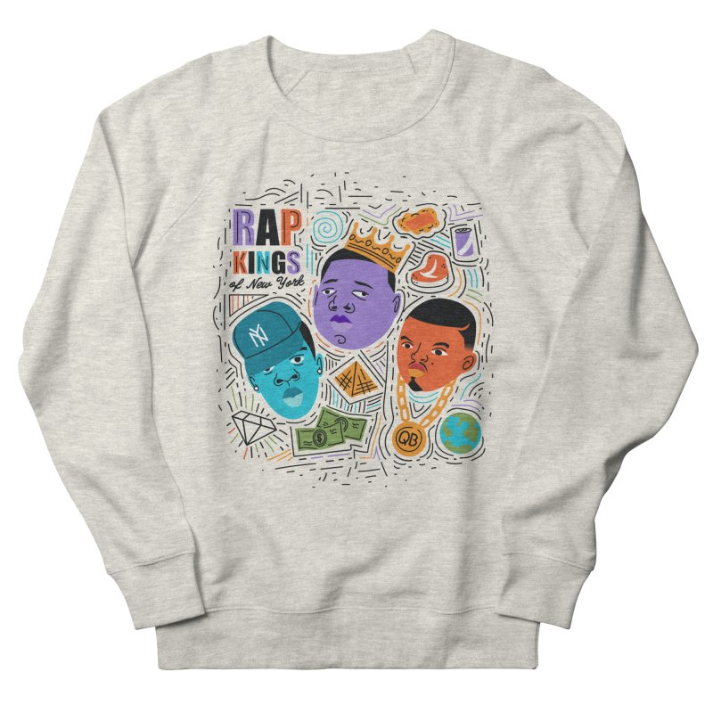Rap Kings Men's French Terry Sweatshirt by Daniel Stevens's Artist Shop
