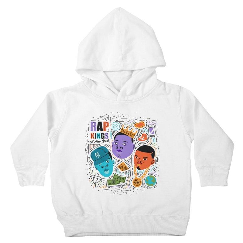 Rap Kings Kids Toddler Pullover Hoody by Daniel Stevens's Artist Shop