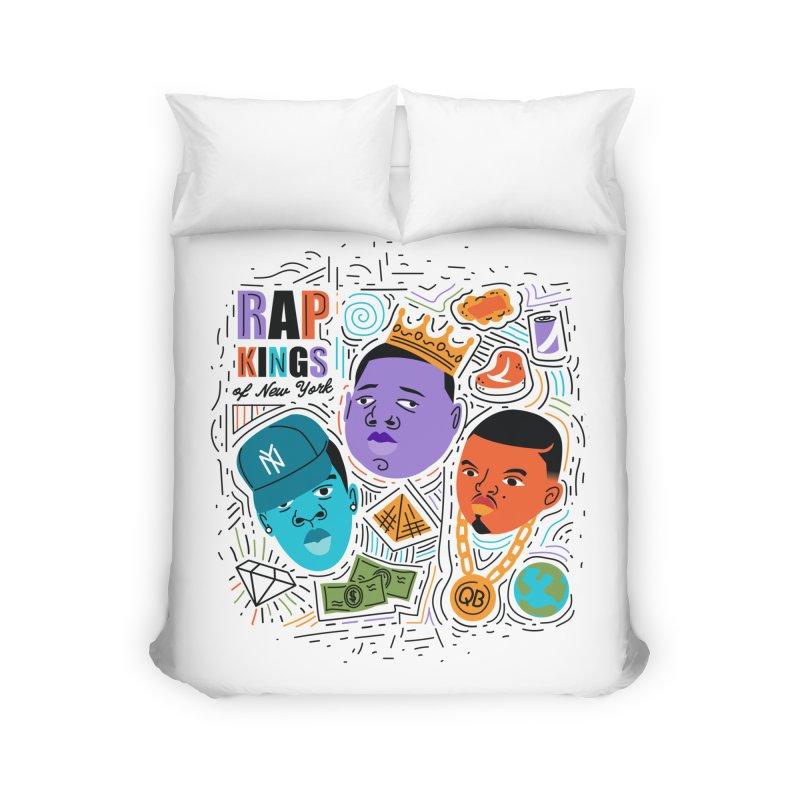 Rap Kings Home Duvet by Daniel Stevens's Artist Shop