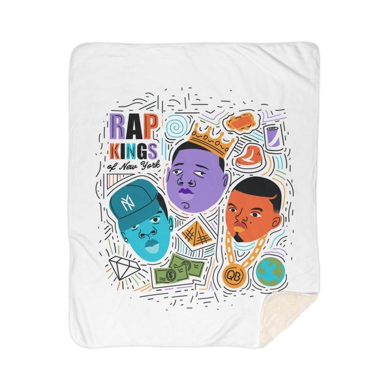Rap Kings Home Sherpa Blanket Blanket by Daniel Stevens's Artist Shop