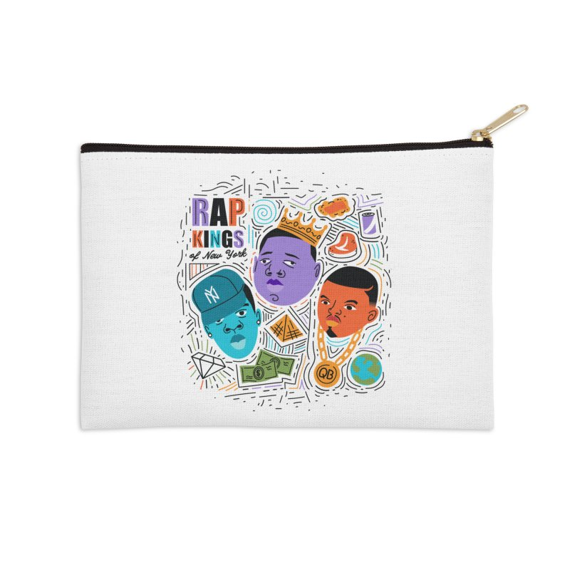 Rap Kings Accessories Zip Pouch by Daniel Stevens's Artist Shop