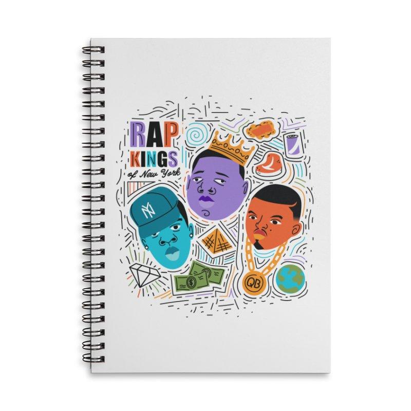 Rap Kings Accessories Notebook by Daniel Stevens's Artist Shop