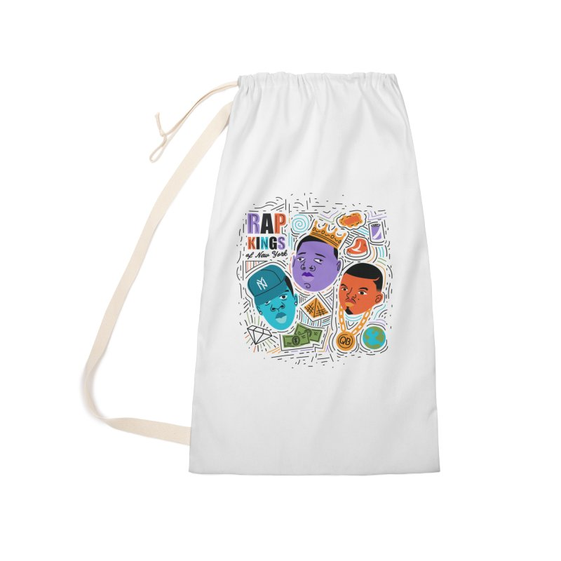 Rap Kings Accessories Laundry Bag Bag by Daniel Stevens's Artist Shop