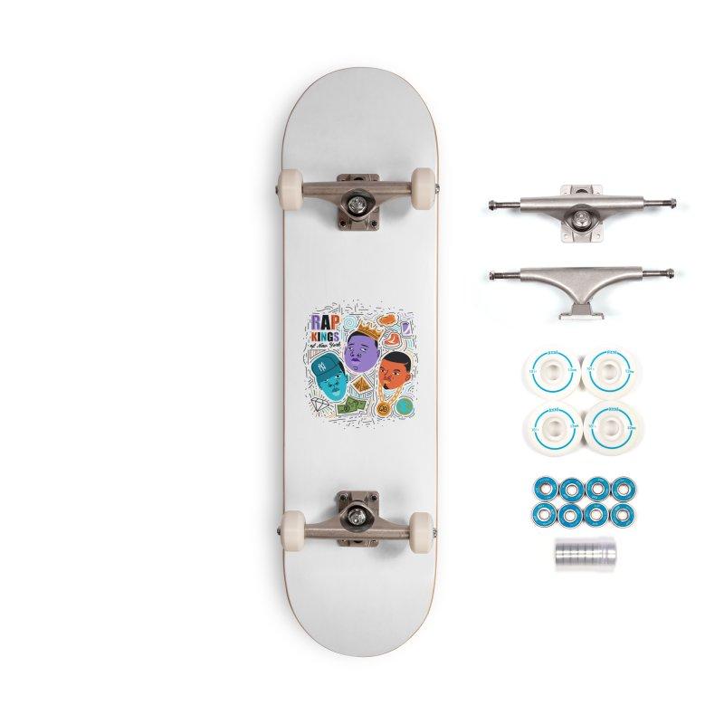 Rap Kings Accessories Complete - Basic Skateboard by Daniel Stevens's Artist Shop