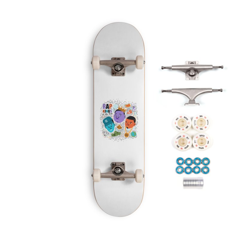 Rap Kings Accessories Complete - Premium Skateboard by Daniel Stevens's Artist Shop