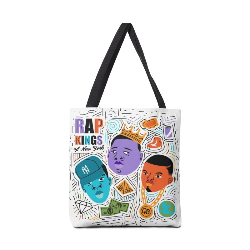 Rap Kings Accessories Tote Bag Bag by Daniel Stevens's Artist Shop