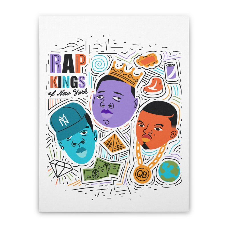 Rap Kings in Stretched Canvas by Daniel Stevens's Artist Shop