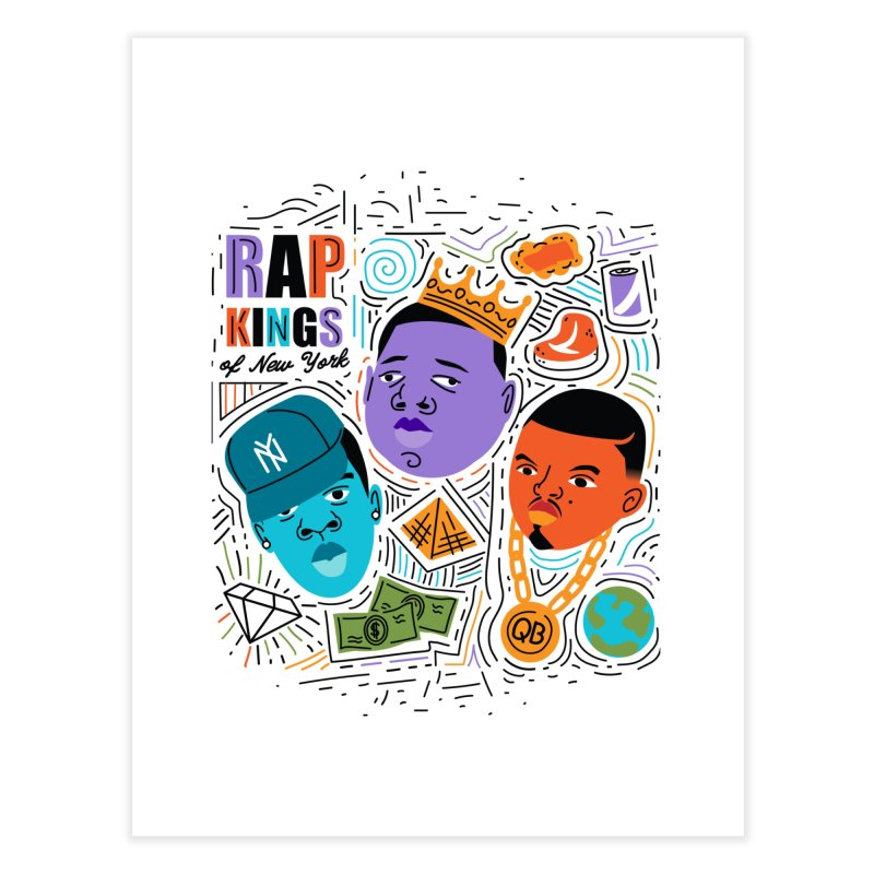 Rap Kings Home Fine Art Print by Daniel Stevens's Artist Shop