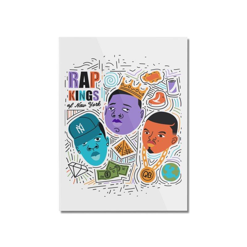 Rap Kings Home Mounted Acrylic Print by Daniel Stevens's Artist Shop