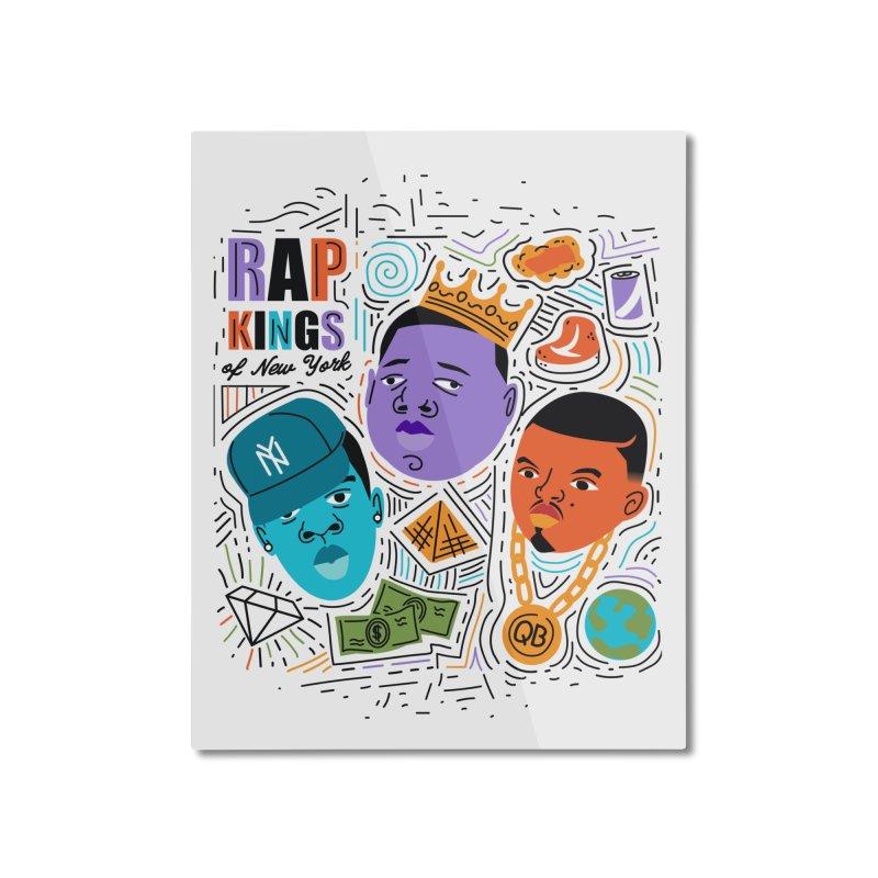Rap Kings Home Mounted Aluminum Print by Daniel Stevens's Artist Shop