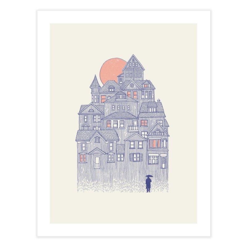 Rainy City Home Fine Art Print by Daniel Teixeira—Artworks