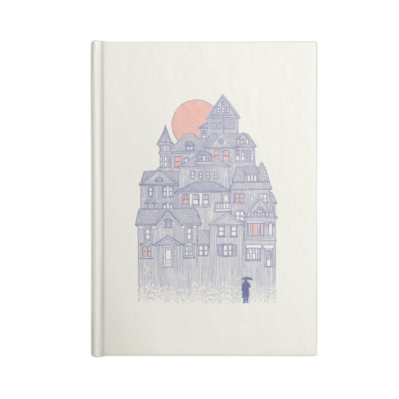 Rainy City Accessories Notebook by Daniel Teixeira—Artworks