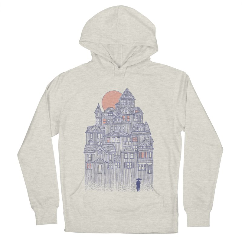 Rainy City Men's Pullover Hoody by Daniel Teixeira—Artworks