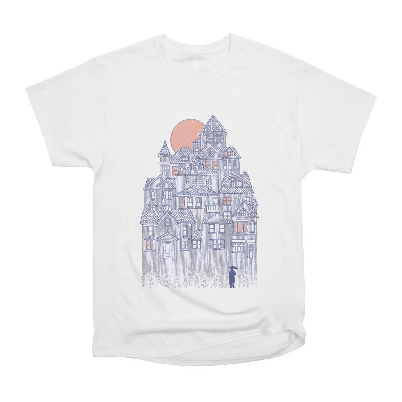 Rainy City Women's Classic Unisex T-Shirt by Daniel Teixeira—Artworks