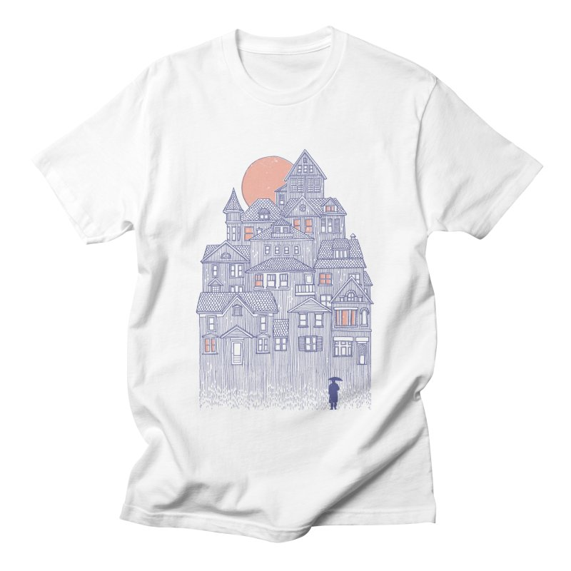 Rainy City Women's Unisex T-Shirt by Daniel Teixeira—Artworks