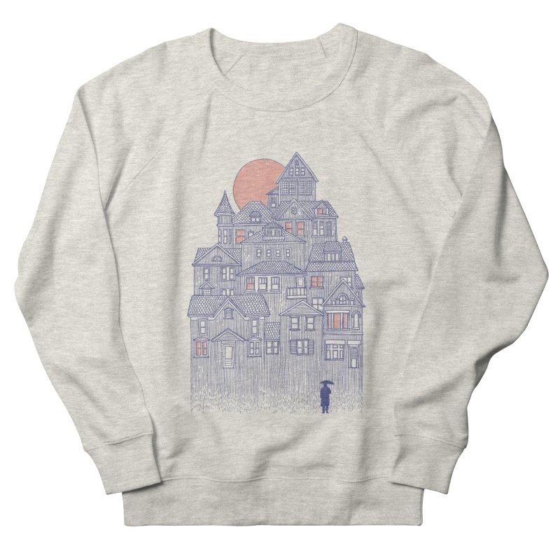Rainy City Men's Sweatshirt by Daniel Teixeira—Artworks