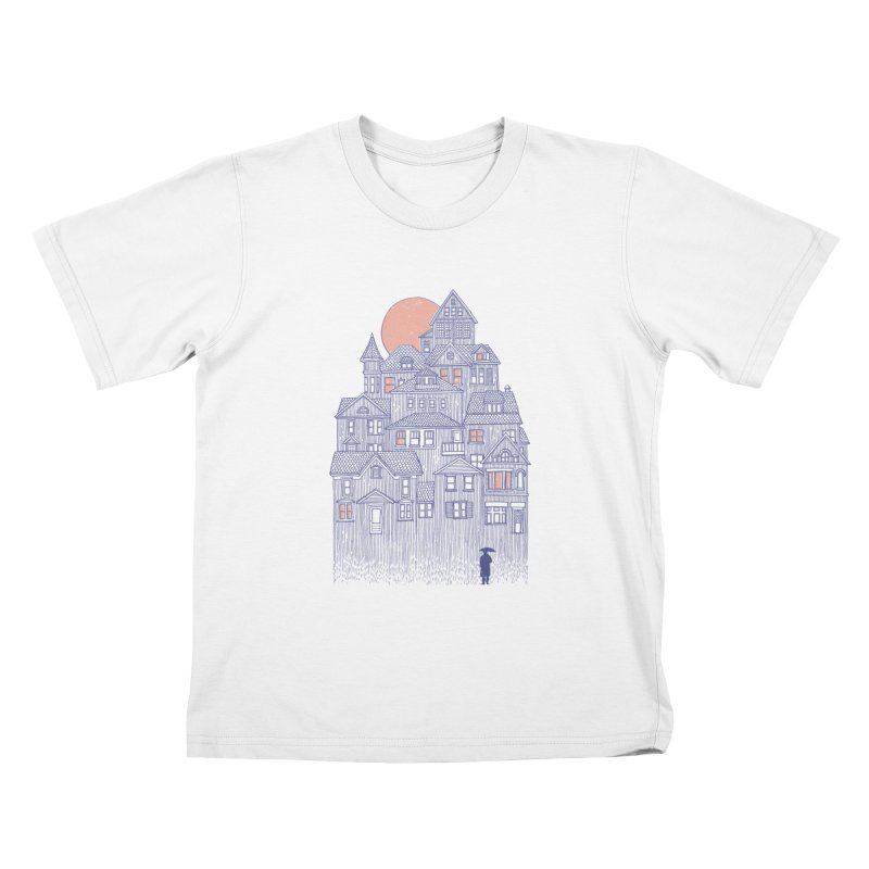 Rainy City Kids T-Shirt by Daniel Teixeira—Artworks