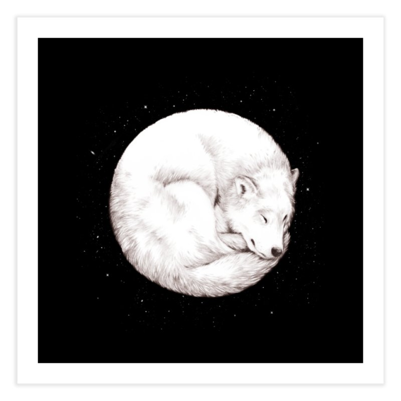 The Howl of the Moon Home Fine Art Print by Daniel Teixeira—Artworks