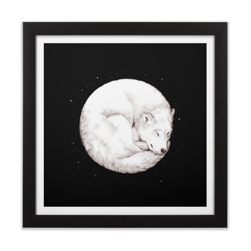 The Howl of the Moon Home Framed Fine Art Print by Daniel Teixeira—Artworks