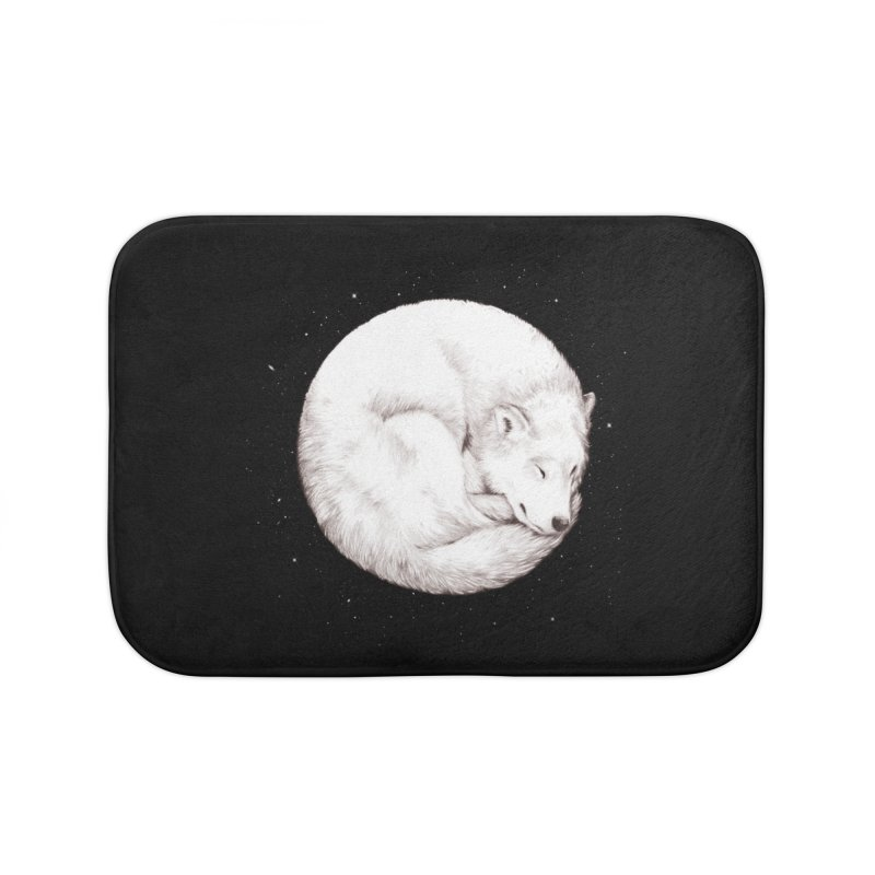 The Howl of the Moon Home Bath Mat by Daniel Teixeira—Artworks