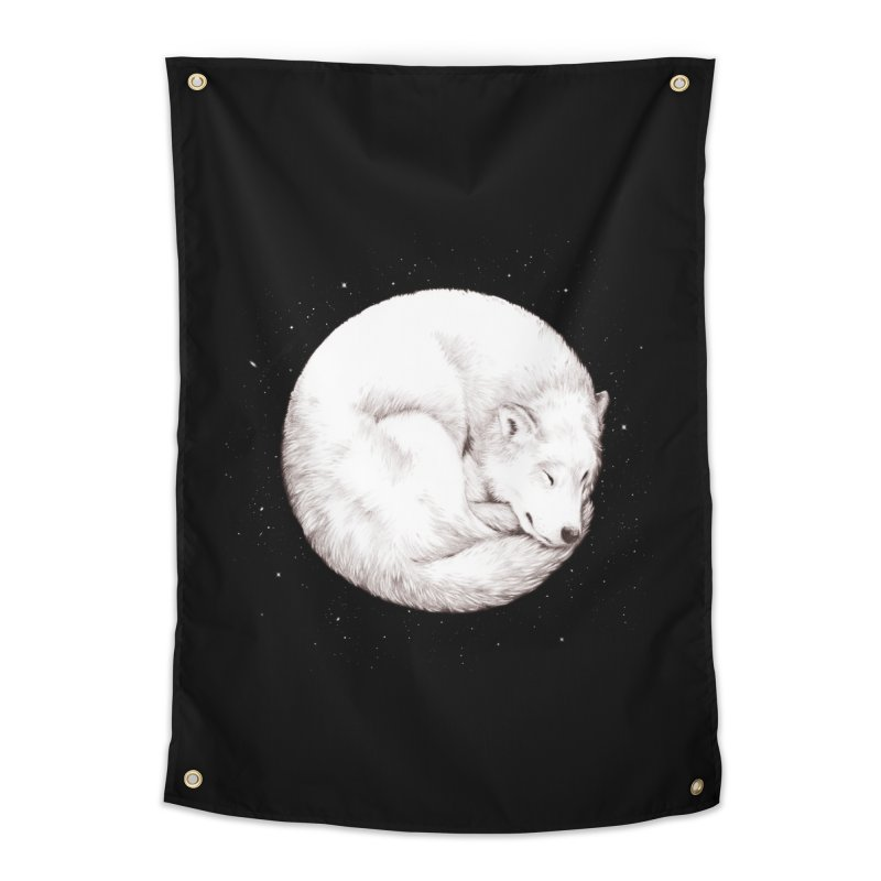 The Howl of the Moon Home Tapestry by Daniel Teixeira—Artworks